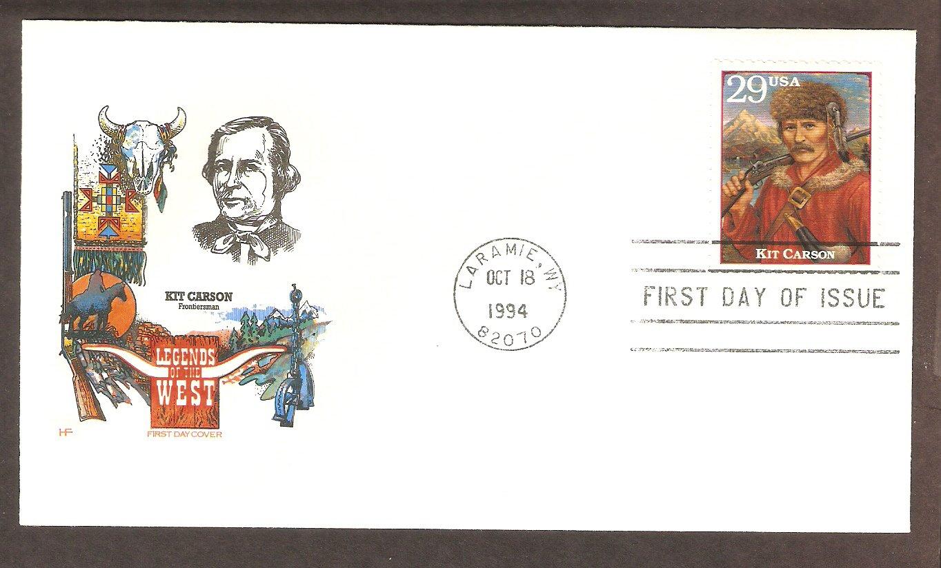 Kit Carson, Western Legend, Wyoming, Kit Carson, Western Legend, Wyoming, HF First Issue USA