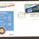 Apollo Soyuz, US Space Mission, Russia, Kennedy Space Center, 1975 FW C First Issue USA!
