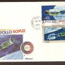 Apollo Soyuz, US Space Mission, Russia, Kennedy Space Center, 1975 FW D First Issue USA!