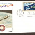 Apollo Soyuz, US Space Mission, Russia, Kennedy Space Center, 1975 FW E First Issue USA!