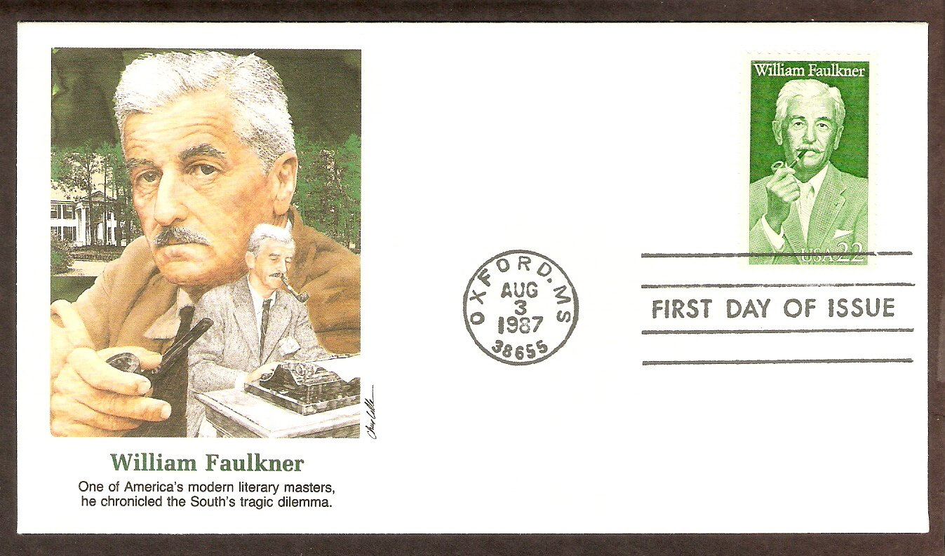Honoring Writer William Faulkner, FW First Issue USA