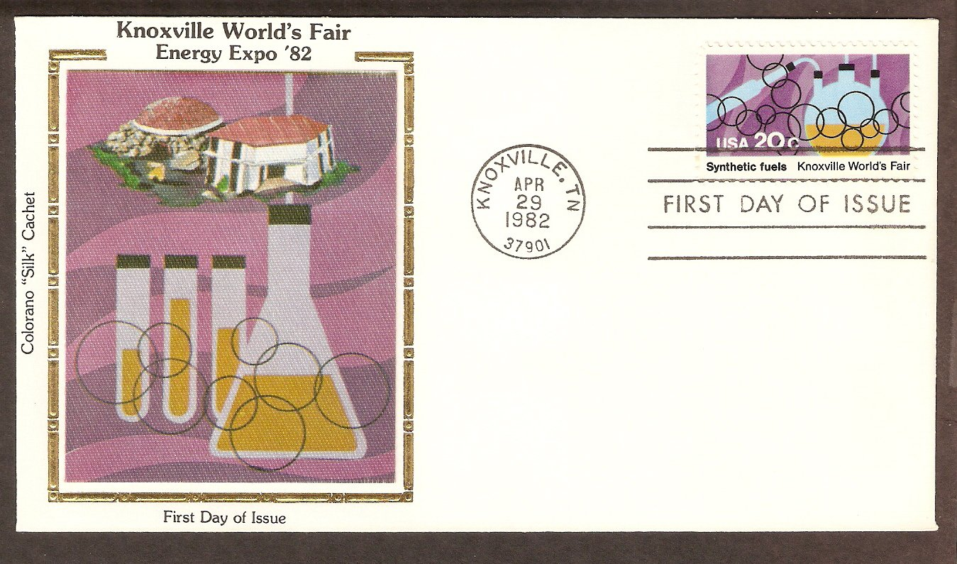 Knoxville World's Fair, Synthetic Fuels 1982 CS First Issue USA