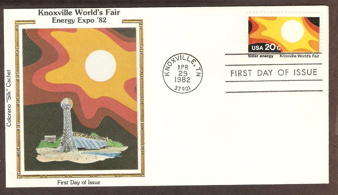 Knoxville World's Fair, Solar Energy 1982 CS First Issue USA