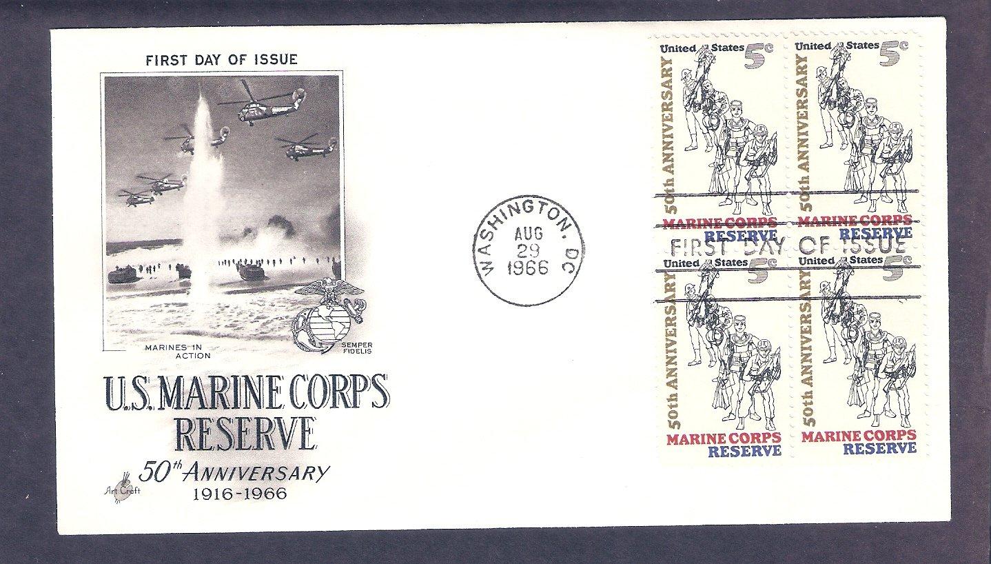 50th Anniversary Marine Corps Reserve, U.S.M.C., FW First Issue USA