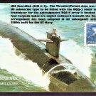 U. S. Navy Submarines, USS Guardfish, SSN 612 First Issue USA
