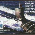 U. S. Navy Submarines, USS Seawolf, First Issue USA