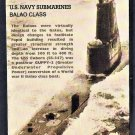 U. S. Navy Submarines, Balaos Class, USS Cubera, First Issue USA