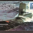 U. S. Navy Submarines, Skipjack Class, USS Scamp, First Issue USA