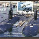 U. S. Navy Submarines, Los Angeles Class, USS Key West, First Issue USA
