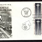 Seattle World's Fair, 1962, Space Needle, Washington, FW First Issue USA