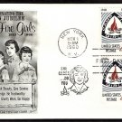 Camp Fire Girls Golden Jubilee First Issue 1960 FW FDC with Insert USA