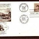 Pony Express Anniversary, Mail Carrier on Horse, 1960 USPS FDC