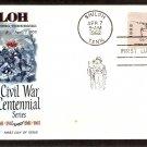 Civil War, Battle Shiloh Rifleman, Tennessee,FW 1962 First Issue USA
