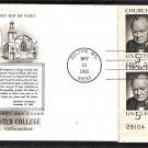 Sir Winston Churchill, In Memoriam, Plate Block 1965 First Issue USA