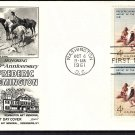 Frederic Remington, American Indian Art, Smoke Signal, FW 1961 First Issue FDC USA