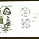 Camp Fire Girls Golden Jubilee First Issue AM 1960 FDC USA