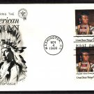 Native American Indian Chief Joseph Fleetwood First Issue FDC USA