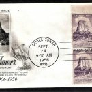 Devils Tower National Monument, Wyoming, 1956 PB First Issue USA