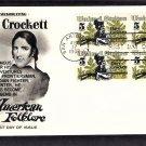 Davy Crockett, Hero of the Alamo, Texas First Issue USA