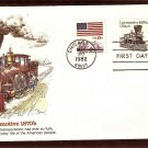 Steam Locomotive 1870s, Railroad, The American Express Train, Fleetwood A First Issue USA