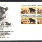 Aberdeen Black Angus Cattle, Western Beef, First Issue USA