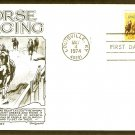 Horse Racing Kentucky Derby 100th Running, Lowry 1974 First Issue USA