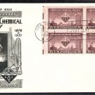American Chemical Society, ACS, Chemistry, 1951 FW First Issue FDC USA