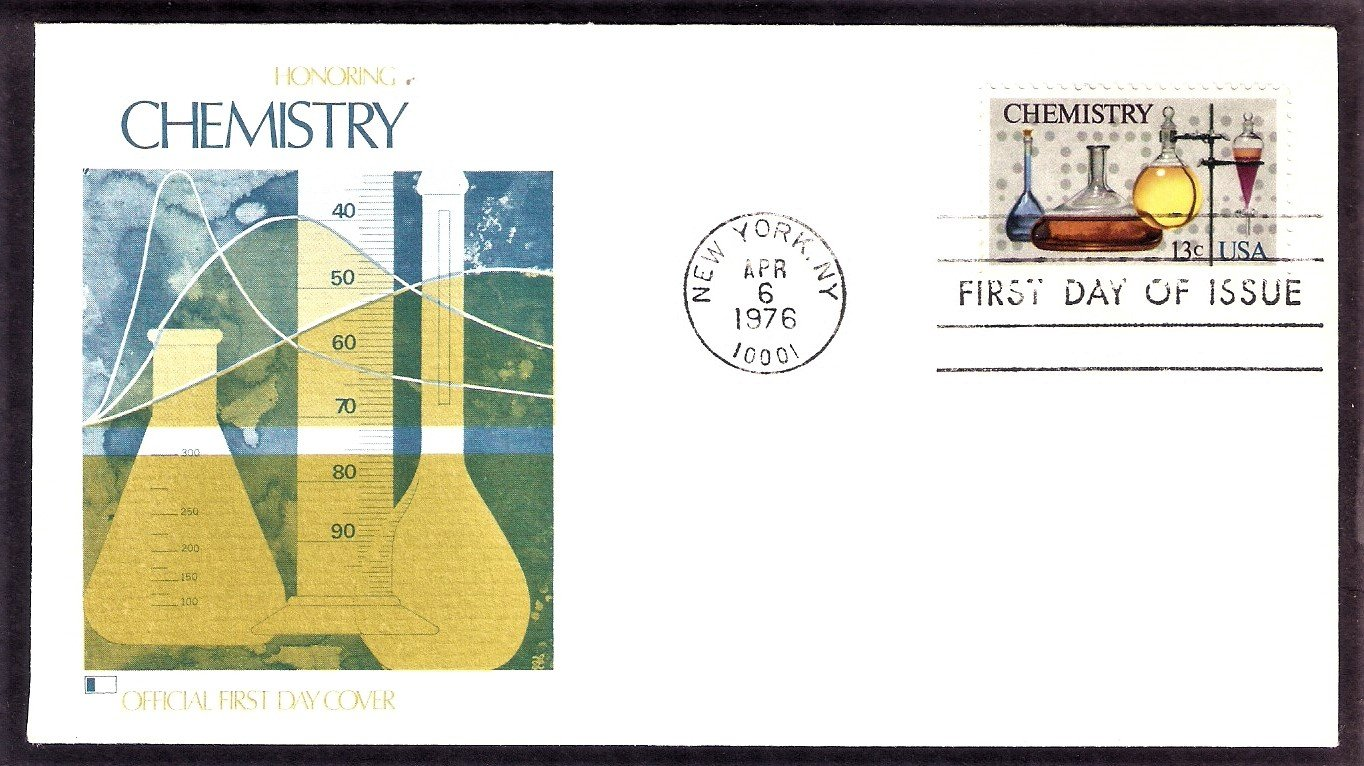 100th Anniversary of the American Chemical Society, ACS, Chemistry, FW First Issue FDC USA