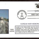 Korean War Veterans Memorial First Issue USA