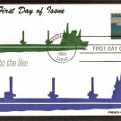 Opening of the Saint Lawrence Seaway, Great Lakes, FCC, First Issue USA