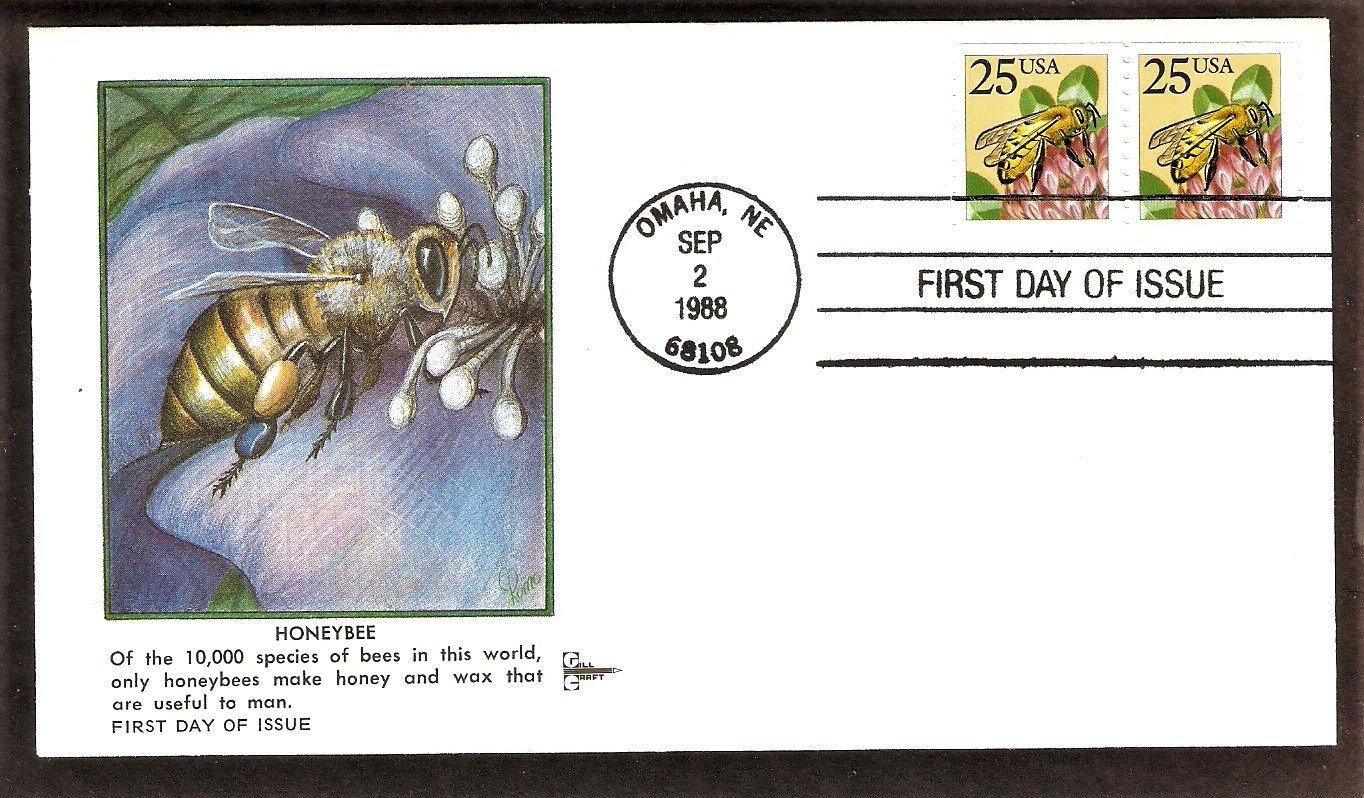 Honeybee, Clover, Gill Craft, First Issue, Omaha, Nebraska USA