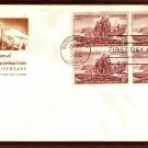 Lewis and Clark Expedition 1954, HF, First Issue FDC USA