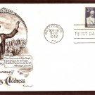 Abraham Lincoln, Gettysburg Address Civil War 1948 FW First Issue USA