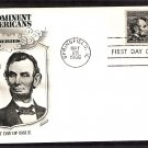 President Abraham Lincoln Coil Stamp, FW, 1966 First Issue USA