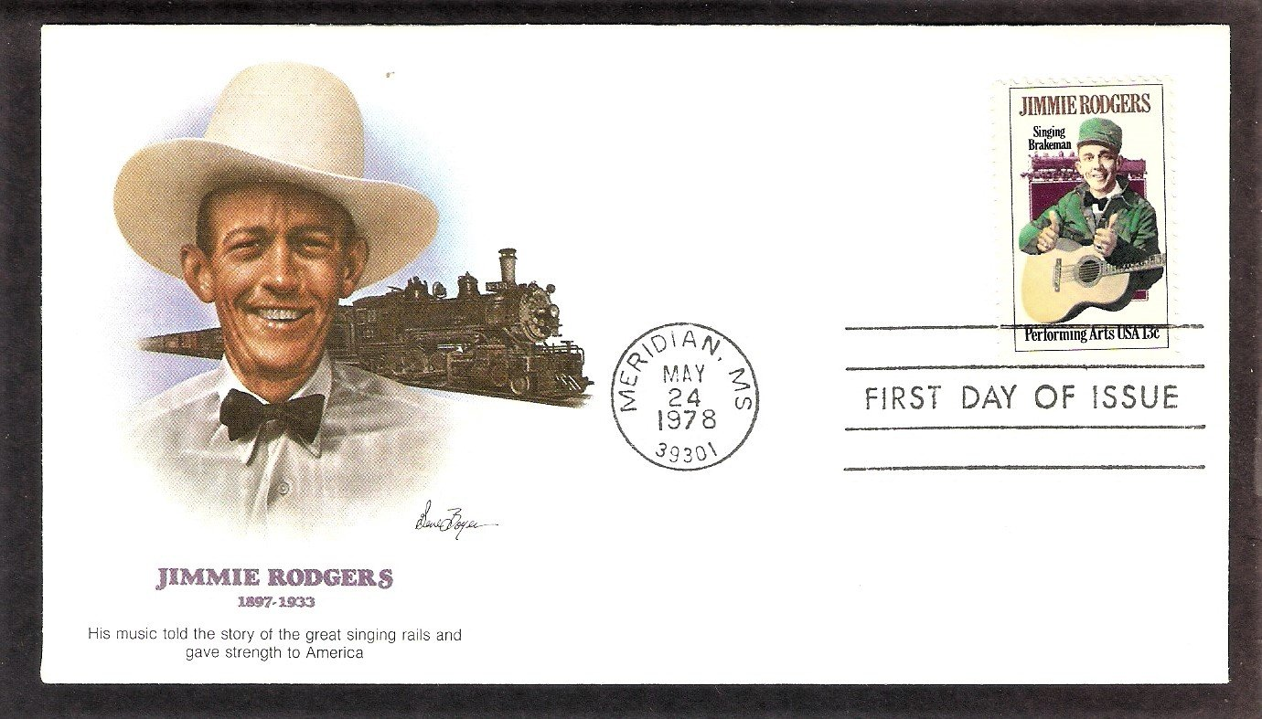 Honoring Jimmie Rodgers Father of Country Music, FW, First Issue USA