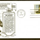 Portland Head Lighthouse, Maine Statehood 1970, Lowry, First Issue USA
