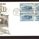 B&O Railroad, Locomotives, 1952 Baltimore, Maryland, FW, First Issue USA