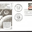 IGY International Geophysical Year, 1958, Lowry, First Issue USA