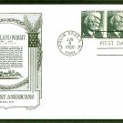 Honoring Frank Lloyd Wright Architecture 1966, Lowry, First Issue FDC USA!