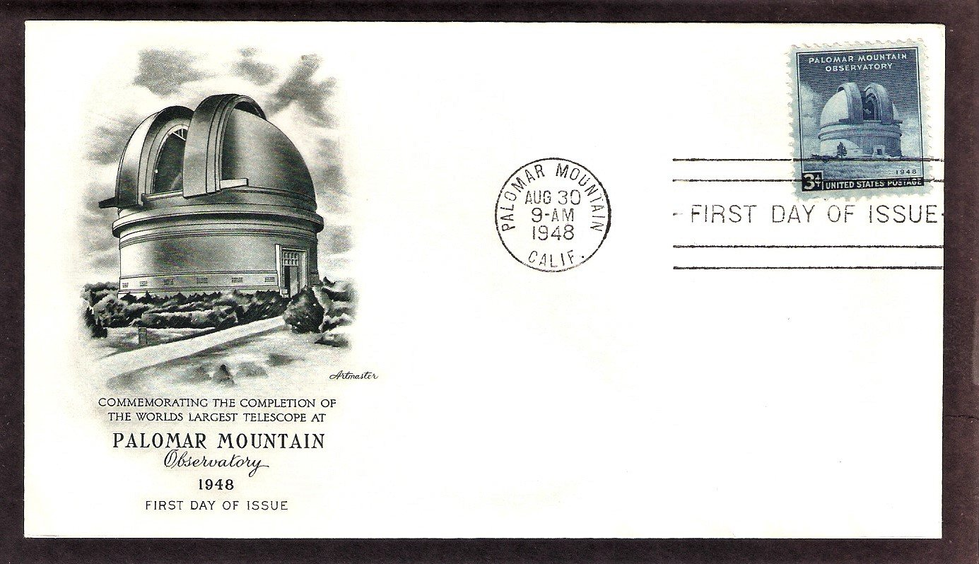 Mount Palomar Observatory Completion, Astronomy, Telescope, AM, 1948 First Issue USA