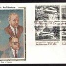 Architecture Frank Lloyd Wright Walter Gropius Mies Van Der Rohe Eero Saarinen CS FDC