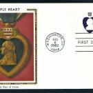The Purple Heart, In the Service of Our Country Award, George Washington, CS First Issue USA