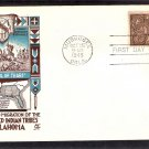 Native American Indian Tribes Centennial, Oklahoma, 1948, CC First Issue USA