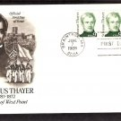 Honoring Sylvanus Thayer Academy, Father U.S. Military Academy West Point, AC, First Issue USA