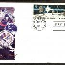 NASA Apollo 15, Moon Rover, Space Astronauts, 1971 First Issue, FW. Texas, USA