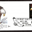 Bald Eagle, Priority Mail, Gill Craft, First Issue USA