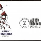 Movie Director Legend Alfred Hitchcock, HF, First Issue FDC USA