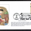 Walt Disney Animation Cartoon Characters Art, Pinocchio, Jiminy Cricket, First Issue USA