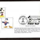 The Art of Disney Magic, Mickey Mouse, Goofy, Donald Duck, First Issue FDC USA