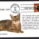 Cats, Bright Eyes, Ruddy Abyssinian, First Issue USA!